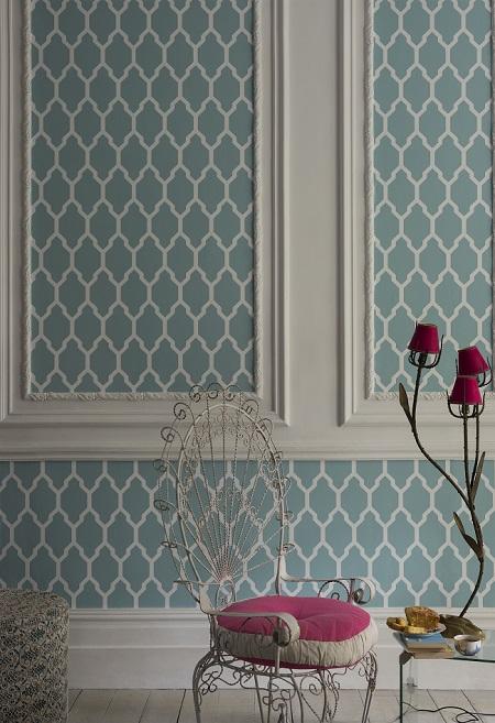 farrow ball tessella wallpaper at ruthin decor - Wallpaper Decor