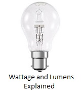 Wattage and Lumens explained
