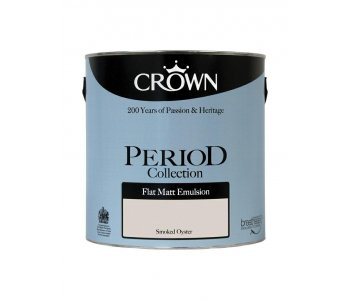 Crown Period Flat Matt Smoked Oyster 2 5l Ruthin Decor